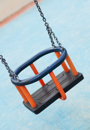 Lonely swing  Stock Photo - 16874605