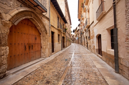 Old town in Spain  Stock Photo