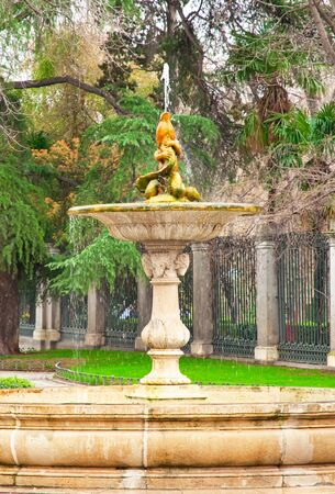 Belle fontaine � Madrid, Espagne photo