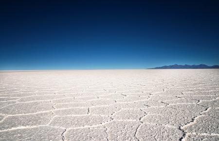 Landscape of Bolivia Stock Photo