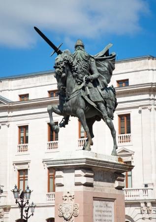 cid: El Cid in Burgos  Stock Photo