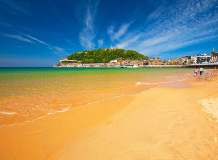 Beach of San Sebastian, Spain