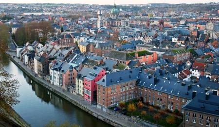 Old bridge in Namur, Belgium Stock Photo - 17238353