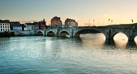Old bridge in Namur, Belgium  Stock Photo