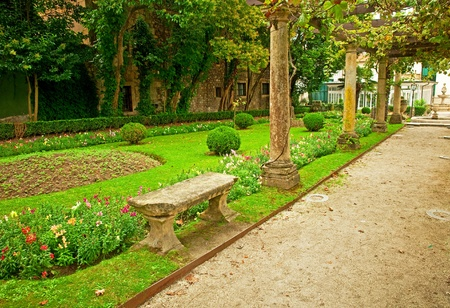 Park in the city photo