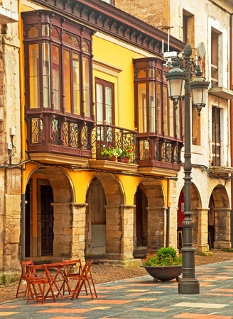 Old town in Spain photo