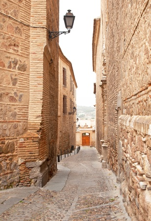 toledo town: Old town of Toledo, Spain Stock Photo