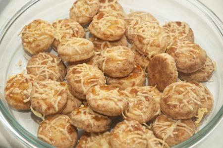 Fresh scones Traditional hungarian cake pogacsa Stock Photo - 18477098