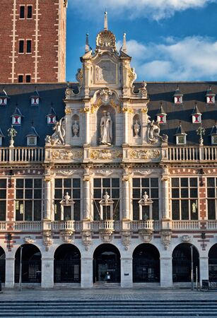leuven: The city library of Leuven, Belgium