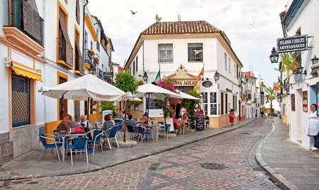 Nice square in Cordoba Stock Photo - 19348786