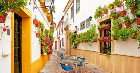 Patio in Cordoba, Spain