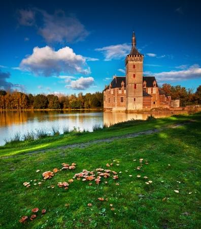 garrison: Nice medieval castle in Belgium