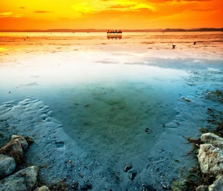 Lake Balaton, Hungary Stock Photo
