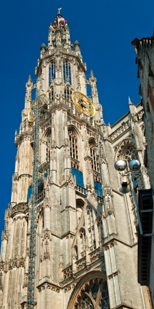 cathedral in antwerp photo