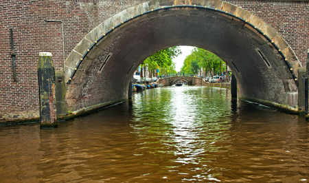 Canals of Amsterdam Editorial