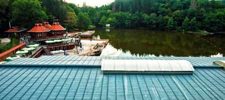 famous industries: Lake Bear in Szovata, Romania