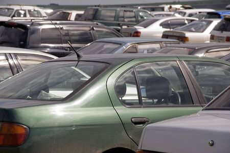 It is a lot of automobiles. Stock Photo