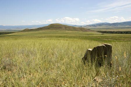 Mountain valley. Stock Photo