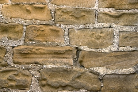 Wall from a grey stone.