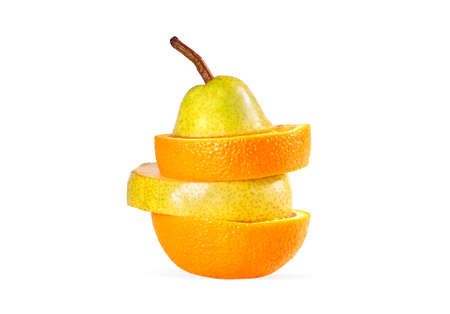 superfruit: Superfruit isolated on white background