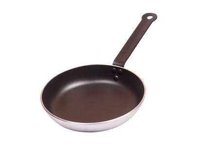 Pan with handle on white background Stock Photo - 15171813