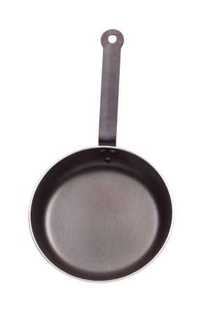 Pan with handle on white background Stock Photo - 15171820