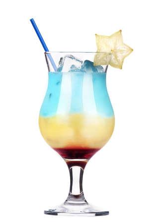 alcoholic cocktail isolated on white background Stock Photo