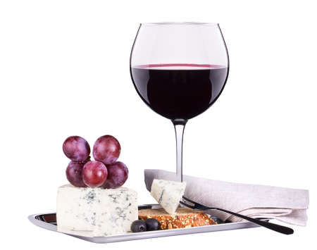 wine  pink: wine assortment cheese and grapes
