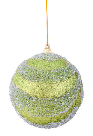 multicolored christmas ball isolated a holiday background concept photo