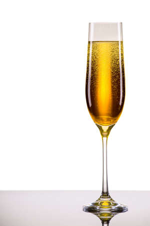 luxury glass of champagne very festive background Stock fotó - 33275747
