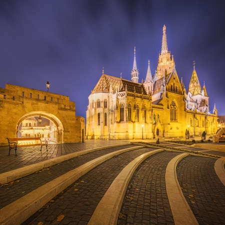 schulek: Fishermens bastion in Budapest, Hungary Editorial
