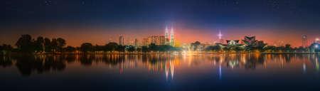 malaysia culture: Kuala Lumpur night Scenery, The Palace of Culture, Malaysia