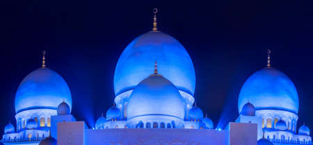Panorama of Abu-Dhabi Mosque
