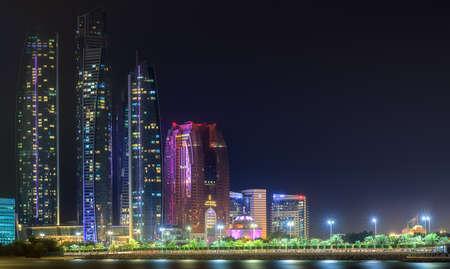 mid morning: Abu Dhabi Skyline