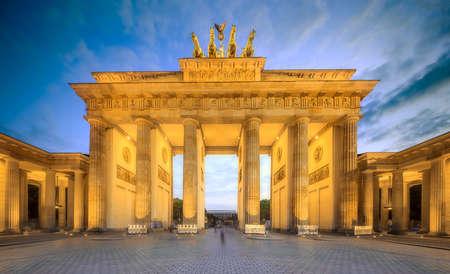 View of Brandenburg gate, Berlin