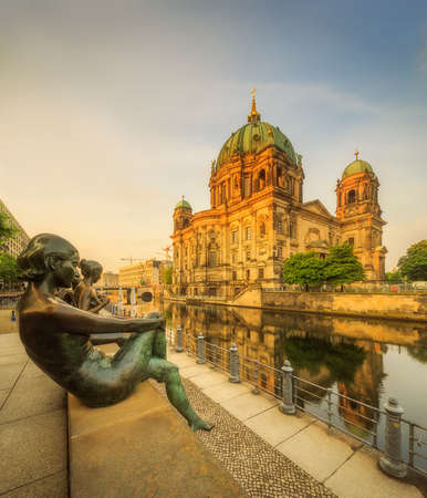 bode: Berlin Cathedral, Berliner Dom Stock Photo
