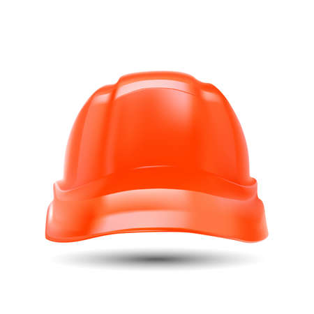mine site: Illustrated vector of construction hardhat Illustration