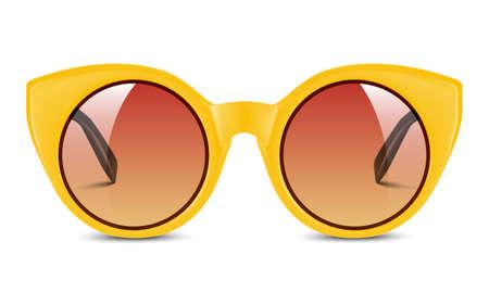 realistic vector illustration of sunglasses