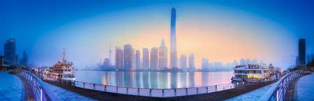 Shanghai skyline cityscape Stock Photo
