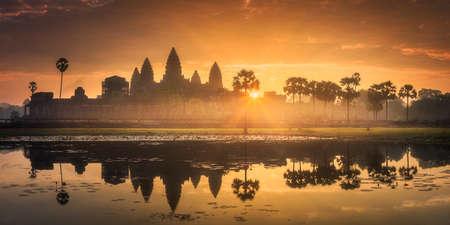 Temple complex Angkor Wat Siem Reap, Cambodia 스톡 콘텐츠