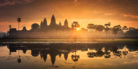 Temple complex Angkor Wat Siem Reap, Cambodia Banque d'images