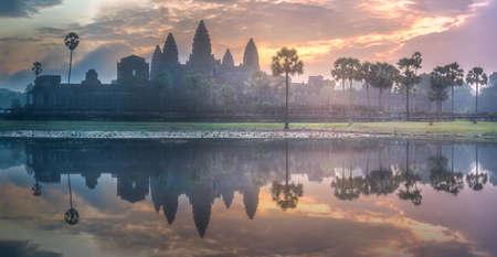 Complesso del tempio Angkor Wat Siem Reap, Cambogia