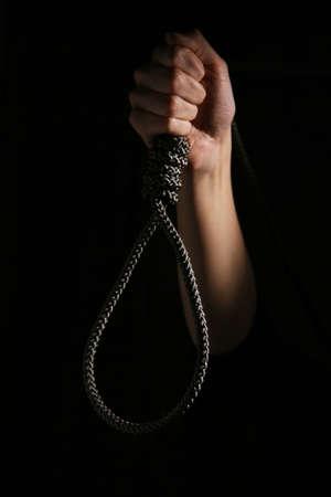 Noose dans la main. Banque d'images - 4808761