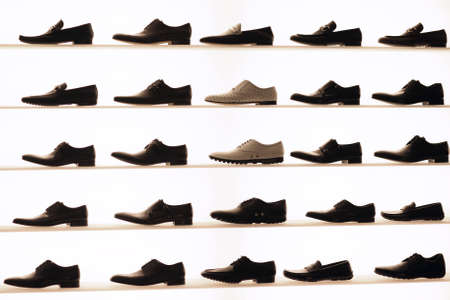 Shoes on display photo