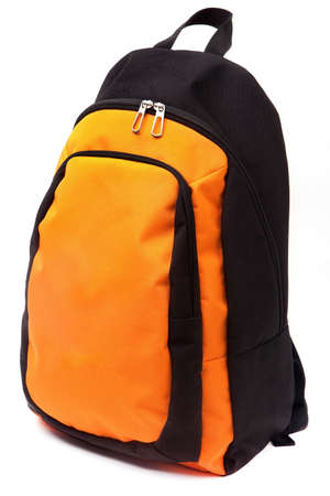 Backpack isolated on white background Stock Photo