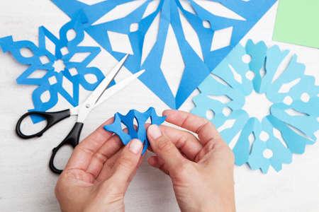 paper cut: Christmas decoration