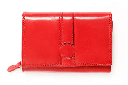 red purse: red purse Stock Photo