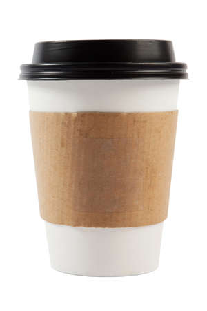 cup coffee: Coffee Cup Isolated Stock Photo