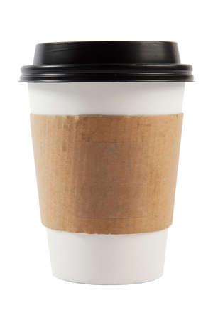 Coupe du café isolé Banque d'images - 33599229