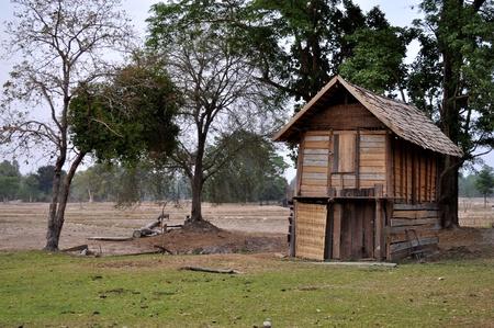Lao farmhouse photo
